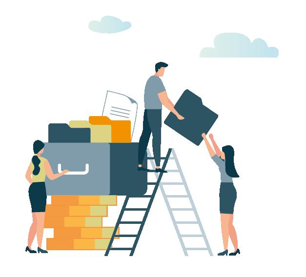 Resilianz vous aide chez vous dans vos tâches administratives